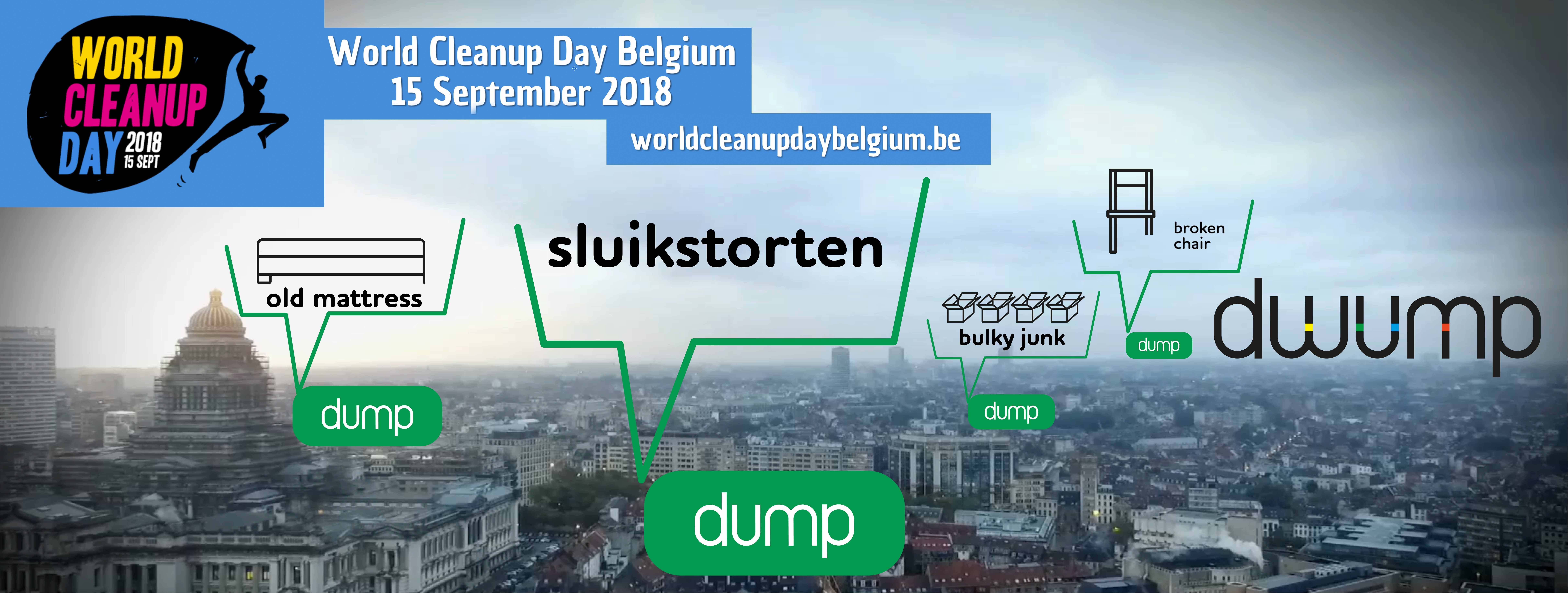 Dwump worldcleanup day